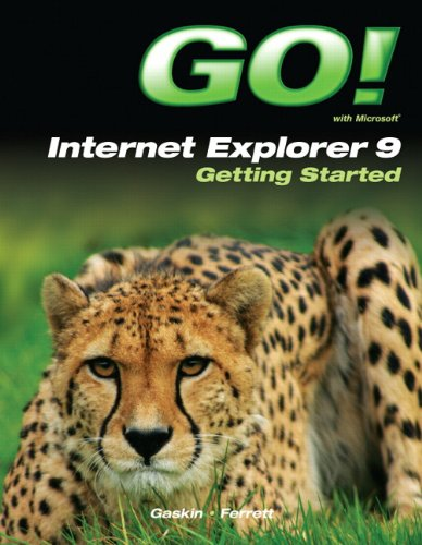 9780132934541: Go! With Internet Explorer 9 Getting Started