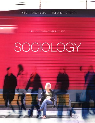 9780132935531: Sociology Eighth Canadian edition