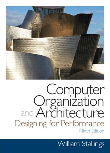 9780132936330: Computer Organization and Architecture: Designing for Performance