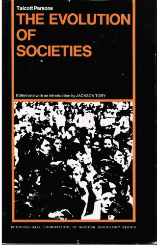 9780132936477: The evolution of societies (Prentice-Hall foundations of modern sociology series)