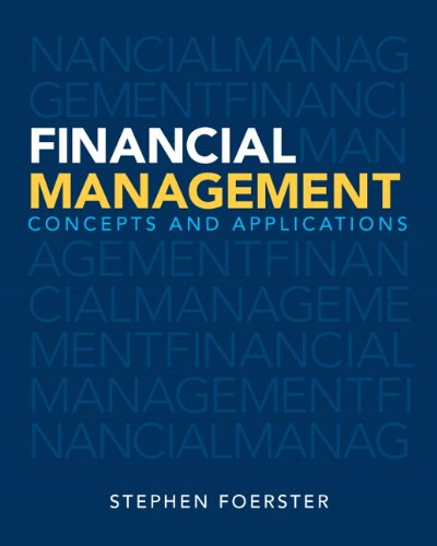 9780132936644: Financial Management: Concepts and Applications