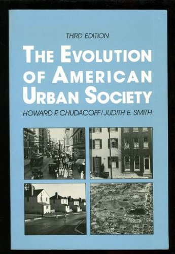 9780132936897: The Evolution of American Urban Society