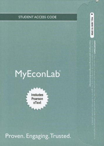 9780132937924: NEW MyEconLab with Pearson eText -- Access Card -- for Economics (MyEconLab (Access Codes))