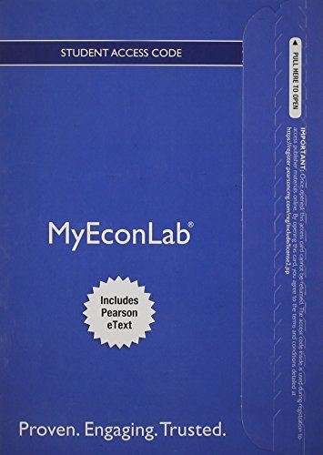 9780132937979: NEW MyEconLab with Pearson eText -- Access Card -- for Essentials of Economics