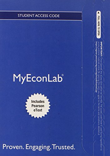 9780132938105: NEW MyEconLab with Pearson eText -- Access Card -- for Microeconomics