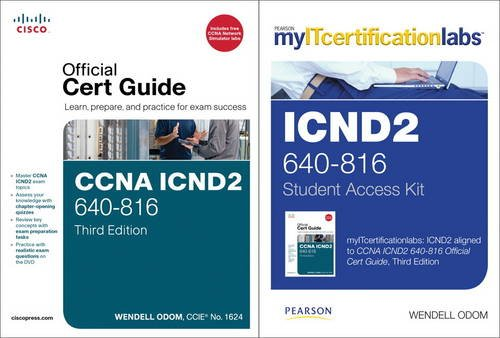 9780132938662: Cisco Icnd2 Official Cert Guide with Myitcertificationlabs Bundle (640-816)