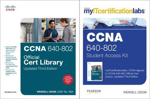 9780132940184: CCNA MyITCertificationlab 640-802 Official Cert Library Bundle