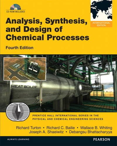 9780132940290: Analysis, Synthesis and Design of Chemical Processes
