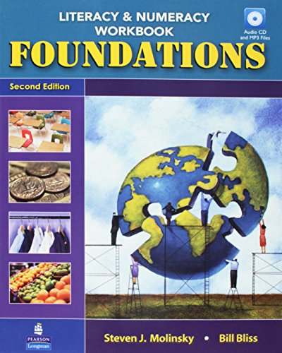 9780132940511: Foundations: Literacy & Numeracy Workbook with Audio CD and MP3 Files