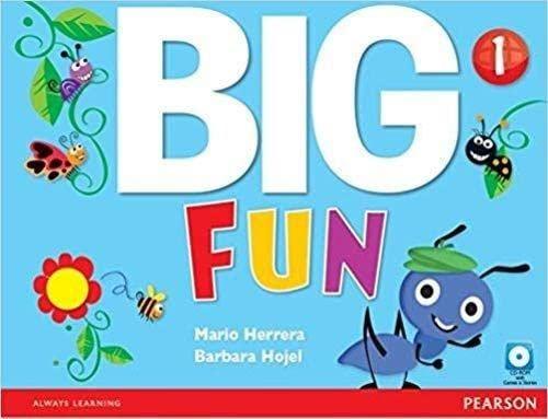 9780132940542: Big fun. Student's book. Per le Scuole superiori. Con ebook. Con espansione online. Con CD-ROM: 1