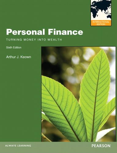 9780132941280: Personal Finance: Turning Money into Wealth