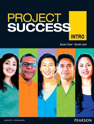 Project Success Intro Student Book with eText: Susan Gaer