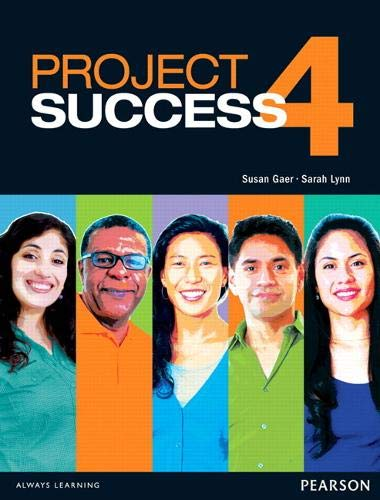 9780132942423: Project Success 4 Student Book with eText