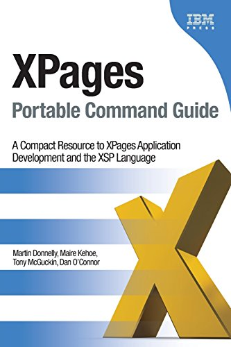 9780132943055: XPages Portable Command Guide: A Compact Resource to XPages Application Development and the XSP Language