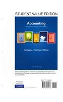 9780132946223: Accounting, Chapters 14-24 (Managerial Chapters), Student Value Edition Plus NEW MyAccountingLab with Pearson eText -- Access Card Package (9th Edition)