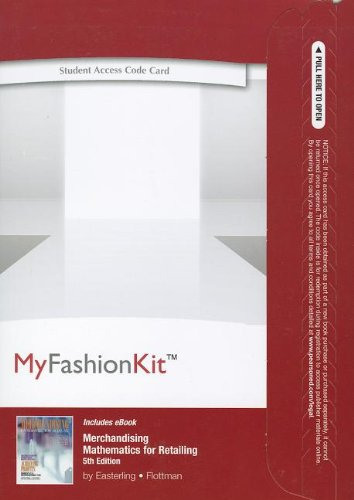 9780132946759: MyFashionKit with Pearson Etext - Access Code - for Merchandising Mathematics for Retailing