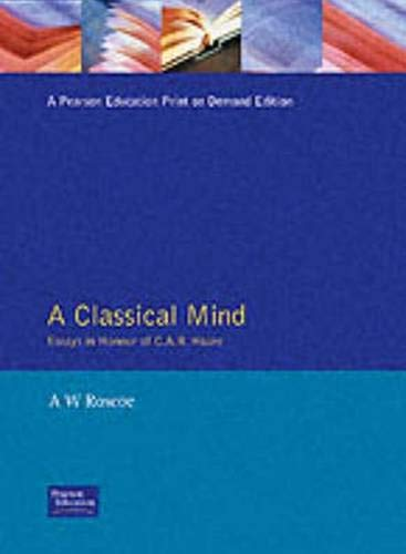 9780132948449: Classical Mind, A: Essays in Honour of CAR Hoare