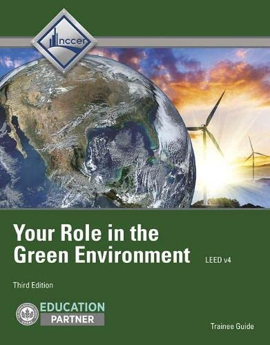 9780132948630: Your Role in the Green Environment Trainee Gd (3rd Edition)