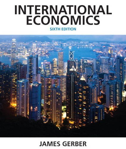 9780132948913: International Economics (Pearson Economics)