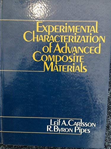 9780132949507: Experimental Characterization of Advanced Composite Materials