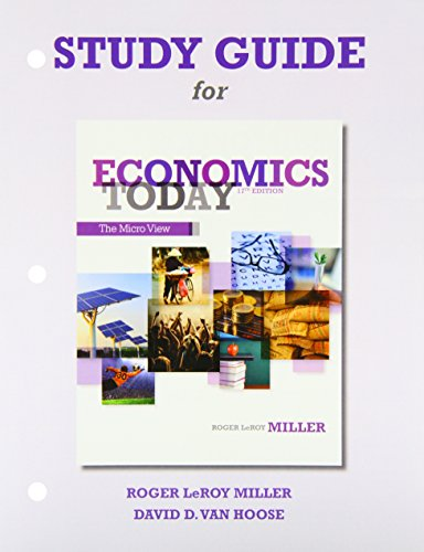 9780132950008: Study Guide for Economics Today: The Micro View and Study Guide for Economics Today: The Macro View Package