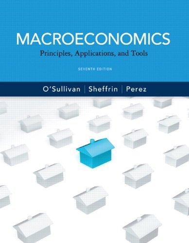 9780132950381: Macroeconomics: Principles, Applications and Tools, 7th Edition