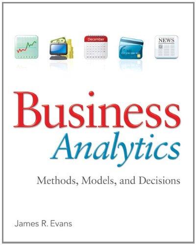 Business Analytics: Evans, James R.