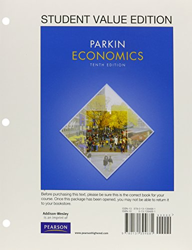 9780132950954: Microeconomics, Student Value Edition / New MyEconLab with Pearson eText, 10th Edition