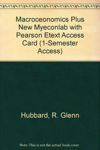 9780132951081: Macroceonomics plus NEW MyEconLab with Pearson eText Access Card (1-semester access)