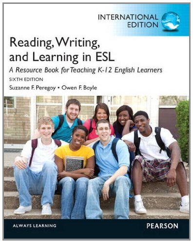 9780132951296: Reading, Writing, and Learning in ESL: A Resource Book for Teaching K-12 English Learners: International Edition