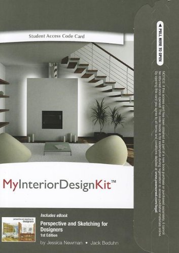 9780132953030: MyInteriorDesignKit with Pearson eText -- Access Code -- for Perspective and Sketching for Designers