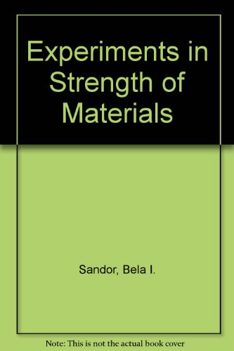 9780132953290: Experiments in Strength of Materials