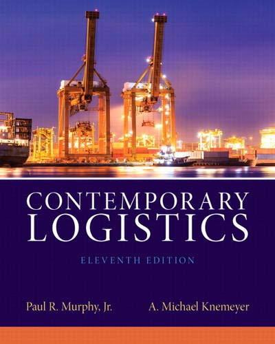 9780132953467: Contemporary Logistics