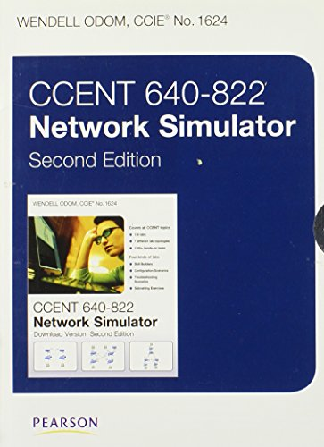 9780132953962: CCENT 640-822 Network Simulator, Access Code Card
