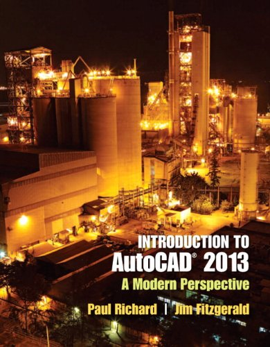 9780132954754: Introduction to AutoCAD 2013: A Modern Perspective