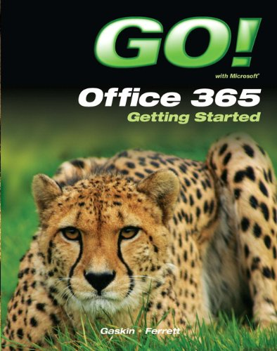 9780132955744: GO! with Office 365 Getting Started