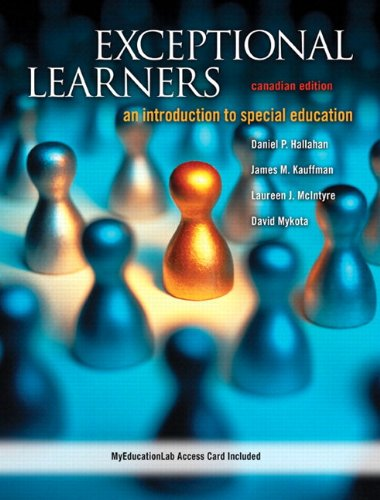 9780132956833: Exceptional Learners: An Introduction to Special Education, Canadian Edition with MyEducationLab