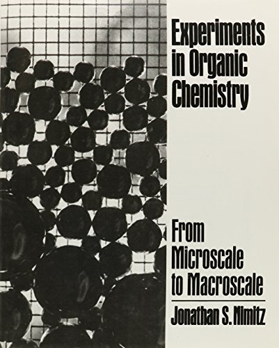9780132957182: Experiments in Organic Chemistry: From Microscale to Macroscale
