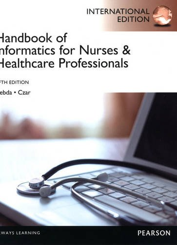 9780132959544: Handbook of Informatics for Nurses & Healthcare Professionals