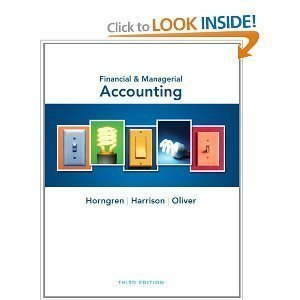 9780132959711: Financial and Managerial Accounting plus NEW MyAccountingLab with eText, (2-semester access) Package (3rd Edition)