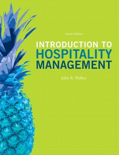 9780132959940: Introduction to Hospitality Management