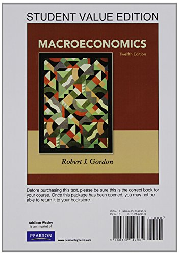 9780132961516: Student Value Edition for Macroeconomics plus NEW MyLab Economics with Pearson eText -- Access Card Package (1-semester access) (12th Edition) (The Pearson Series in Economics)