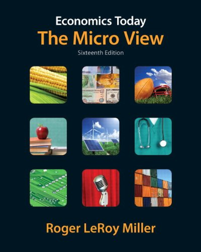 9780132961622: Economics Today: The Micro View plus NEW MyEconLab with Pearson eText (1-semester access) -- Access Card Package (16th Edition)