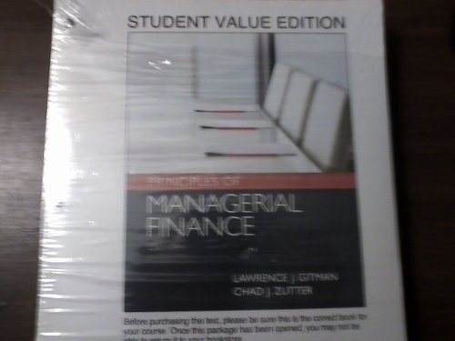 9780132962094: Principles of Managerial Finance: Student Value Edition with Myfinancelab Access Code (Prentice Hall Series in Finance)