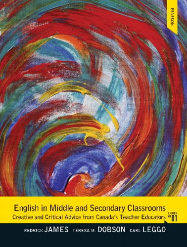 9780132963473: English in Middle and Secondary Classrooms