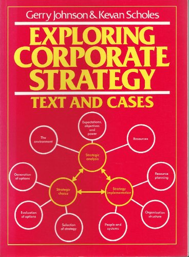 9780132964197: Exploring Corporate Strategy: Text and Cases