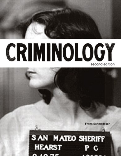 9780132966757: Criminology (2nd Edition) (The Justice Series)