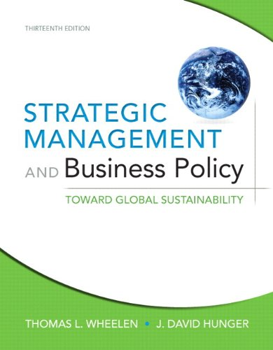 9780132967341: Strategic Management and Business Policy: Toward Global Sustainability Plus NEW MyManagementLab with Pearson eText -- Access Card Package (13th Edition)