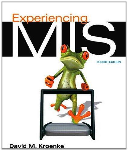 9780132967488: Experiencing MIS