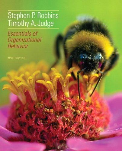 9780132968508: Essentials of Organizational Behavior